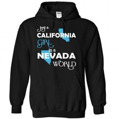 (CAXanh001) Just A California Girl In A Nevada World - #tshirt typography #athletic sweatshirt. BEST BUY => https://www.sunfrog.com/Valentines/-28CAXanh001-29-Just-A-California-Girl-In-A-Nevada-World-Black-Hoodie.html?68278