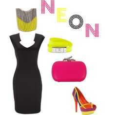 !NEON!, created by jennifer-zuccaro on Polyvore
