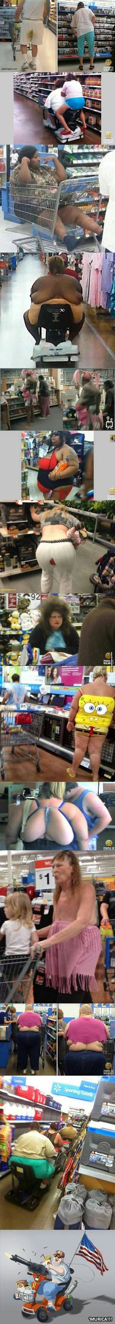 Top 15 Funniest Pictures Of People vs.Walmart