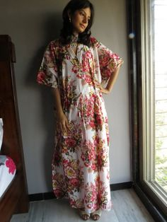 Cozy Kaftan Style made From A9 Fabric Pattern