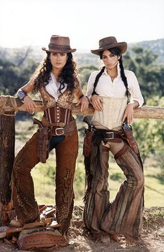 figurino cowgirl
