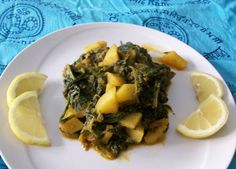 Aloo Palack - spinaci e patate all'indiana