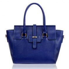 $13.83 Stylish Women's Leather Handbag With Splicing and Metallic Design