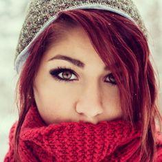Red hair<3 Makeup<333