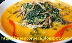 Resep dan cara membuat gulai daun singkong dengan campuran daging sapi serta dilengkapi ikan teri. http://resepcorners.blogspot.com/2014/06/resep-gulai-daging-sapi-daun-singkong.html