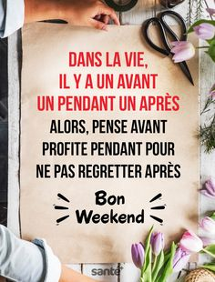 Bon Weekend, French Greetings, Happy Monday Quotes, Best Quotes, Life Quotes, French Language Lessons, Quote Citation, Strong Words, Morning Wish