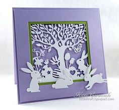 Easter Cutout Silhouette by Kittie Caracciolo