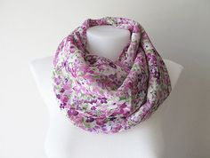Hey, I found this really awesome Etsy listing at https://www.etsy.com/listing/228657565/pink-purple-floral-pattern-chiffon