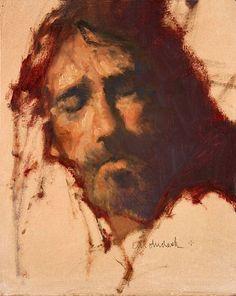 Head of Christ by C. M. Dudash