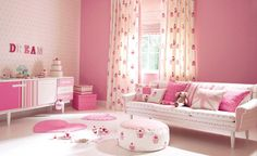 15 Pink Girl's bedroom 2014 : Inspire pink room designs ideas for girls Pink Bedroom For Girls, Pink Room, Little Girl Rooms, Pastel Bedroom, Cupcake Bedroom, Cupcake Nursery, Tout Rose, Decoration Bedroom, Decor Room