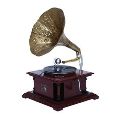 Wood Gramophone An Excellent Home Decor