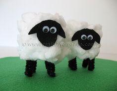 Cardboard Tube Lamb Tutorial (Video!)