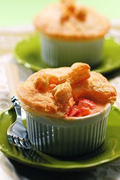 "Four seven-ounce pot pies Presented in elegant, reusable ceramic ramekins ""We received these tasty pot pies as a gift and oh my.... they are so good! A true treat!!!!"" -SJ Pemaquid Point Lobster Pot Pies, Four Pies"