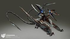 Transformers Age of Extinction Concept Art