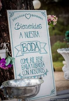 Carteles para tu boda #wedding #bodas #boda #bodasnet #decoración #decorationideas #decoration #weddings #inspiracion #inspiration #photooftheday #love #beautiful #bride