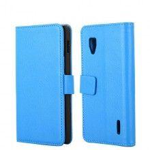 Funda Optimus G Tipo Libro - Azul  AR$ 75,18