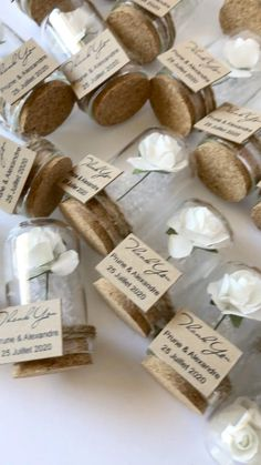 Handmade Wedding Favours, Wedding Gifts For Guests, Wedding Favors For Guests, Handmade Birthday Cards, Bridal Shower Desserts, Bridal Shower Favors, Budget Friendly Wedding Favours, Bachelorette Party Favors, Wedding Crafts