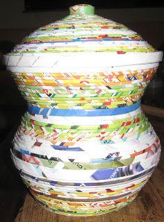 Arte em jornal: Vaso