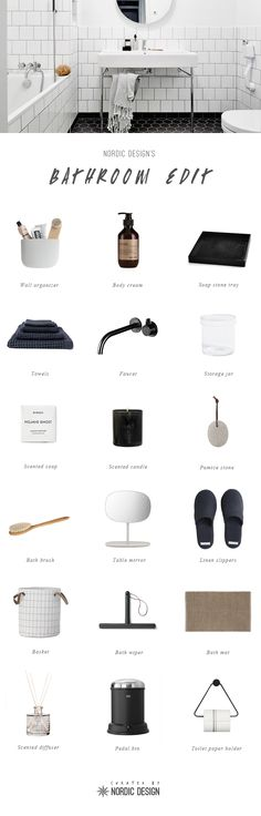 Top picks for a Scandinavian-inspired bathroom