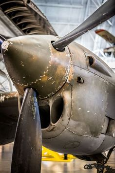 Left engine of a P-38 Lighting may be used in Pacific Theater