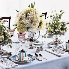 A great giveaway from Peter Callahan...and setting a pretty table! - The Enchanted Home