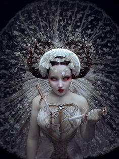 """Ritual"" —Photographer/Model: Natalie Shau"