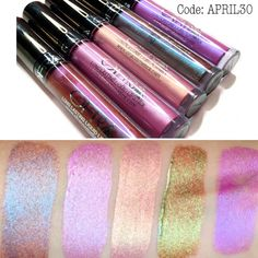 OFRA duochrome and triple chrome liquid lipsticks (use code; APRIL30 when shopping at OFRA to receive 30% off your order)