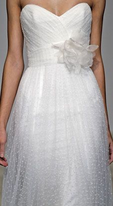 A Pretty Proposal: gorgeous floaty dress from Christos Bridal. After Wedding Dress, Bridal Wedding Dresses, Wedding Attire, One Shoulder Wedding Dress, Bridesmaid Dresses, Embelished Wedding Dress, Christos Bridal, Pretty Dresses, Beautiful Dresses