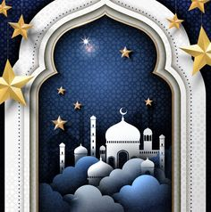 Illustration about Ramadan illustration and Arabic calligraphy with mosque covered by clouds and star decorations. Illustration of iftar, patterns, night - 90480803 Ramadan Decorations, Star Decorations, Princess Crown Tattoos, Best Photo Frames, Ramadan Poster, Iftar Party, Star Cloud, Bird Wallpaper, Ramadan Mubarak