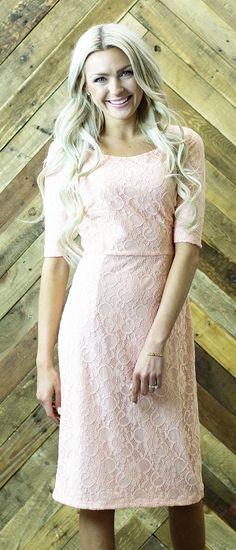 June Dress [MDS1611] - $54.99 : Mikarose Boutique, Reinventing Modesty