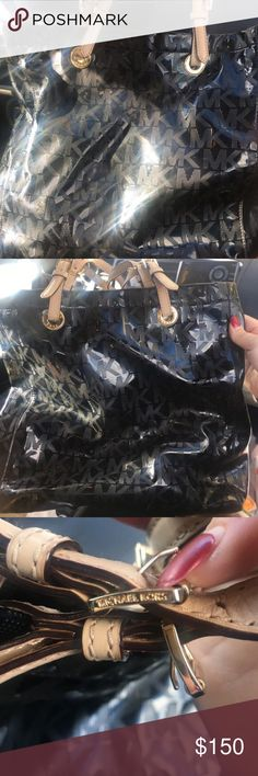 Mk Purse In excellent condition! Large Bag !! 🙂🙂🙂 bought for $200 KORS Michael Kors Bags Totes