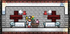 Great themed Nurse house! I was unaware you could paint gray brick, and also use beds to count to the comfort item!
