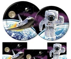 Just ordered these on ebay: Space Odyssey party range