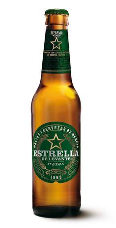 Estrella de Levante, Pilsen 4,8% ABV (Grupo Damm, España) [febrero 2016]