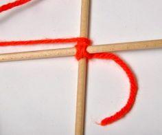 How to Make Ojos de Dios (God's Eyes) | Gingerbread Snowflakes