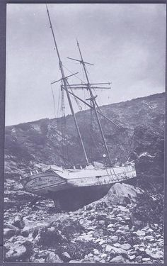 'MARIE-CÉLINE' (1901) | Cornwall: Wrecked at Gerrans Bay ✫ღ⊰n