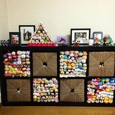 Tsum tsum shelf display
