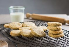 Lemon and Chia Protein Cookies