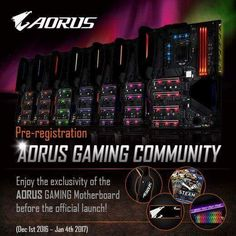 It's probably Z270, first GIGABYTE Aorus Series Motherboard Teased
