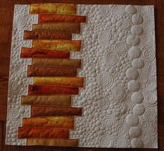 Do you want to learn modern quilting tips for finishing your quilts by machine? When it comes to contemporary quilting, many experienced quilters rely on negative space as a key design element. Check out these awesome designs from the Craftsy community and learn how to showcase features like asymmetry and negative space in your next project!