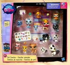 NEW* Littlest Petshop - Pets in the city 14 pets