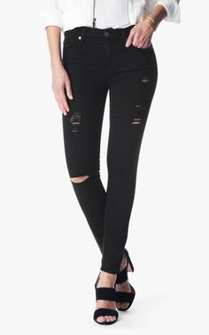 7 For All Mankind Skinny Jeans. Free shipping and guaranteed authenticity on 7 For All Mankind Skinny JeansAuthentic 7 For All Mankind Bair denim in black wi...