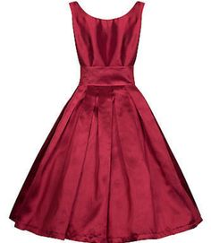 Lana dress in red by Lindy Bop