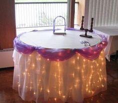 180 LED Table Curtain Lights - Warm White (7.2M * 1M)