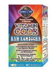 Garden Of Life: Vitamin Code RAW Kombucha   60 Caps   Crohns.net