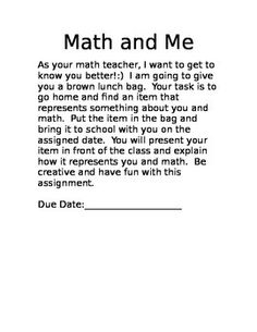8 Best Math Icebreakers And Getting To Know You Activities Images