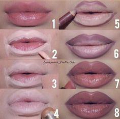 Makeup How to fake your way to bigger lips Makeup Techniques BIGGER Fake Lips Makeup Makeup Techniques contouring Lip Makeup Tutorial, Lipstick Tutorial, Lip Liner Tutorial, Big Lips Tutorial, Makeup Contouring, Makeup Tricks, Makeup Ideas, Beauty Tricks, Makeup Tutorials