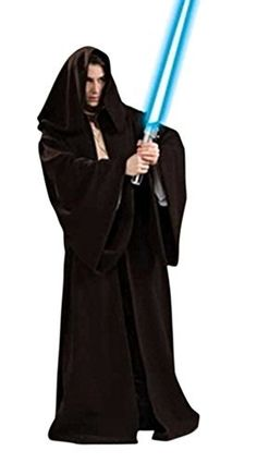 Star Wars Deluxe Sith Robe Adult Costume Standard The Star Wars Sith Robe looks amazing, with flowing arms and material. Includes one Sith robe. Does not include tunic, pants, shoes or lightsaber. This is an officially licensed Star Wars ™ costume. Costume Halloween, Costume Jedi, Costume Star Wars, Star Wars Halloween, Costume Shop, Adult Halloween, Halloween Clothes, Jedi Cosplay, Warrior Costume