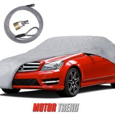 MotorTrend Multi Layers Car Cover UV Snow Rain Water Proof w/ Secure Lock Waterproof & Wind Secure Lock Included Armor All, Snow Rain, Fit Car, Car Covers, Armored Vehicles, Car Accessories, Weather, Grey, Layers