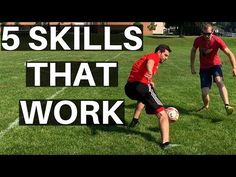 I show you 6 soccer moves every player needs to learn in this video! Once again, these are not fancy moves. These are moves that actually work in different m. Soccer Pro, Soccer Coaching, Soccer Tips, Soccer Games, Soccer Training, Football Soccer, Soccer Ball, Golf Tips, College Football